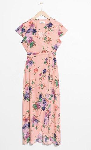 & other stories Midi Dress salmon-pink