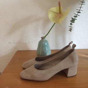 & other Stories wunderschöne Pumps aus Wildleder Suede mit Blockabsatz
