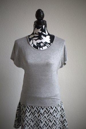 & Other Storys T Shirt Basic Grau S