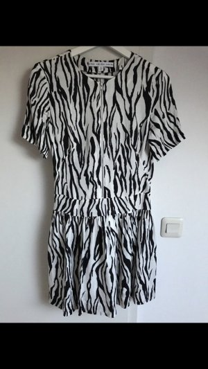 & other stories A Line Dress white-black