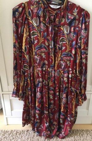 Otherstories andotherstories ethno Blogger Kleid Maxi dress hippie bordeaux ausverkauft