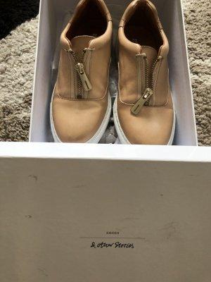 Otherstories &otherstories slipper sneaker nude Schuhe Leder beige