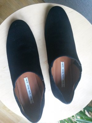 &otherstories Slipper 36 schwarz Wildleder Slip ons Mules Schlappen cos