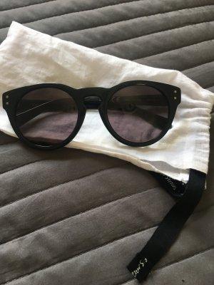 & other stories Ronde zonnebril zwart