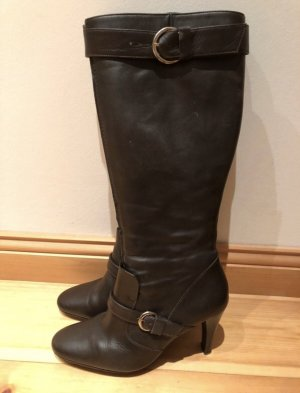 Apart Heel Boots black brown-dark brown