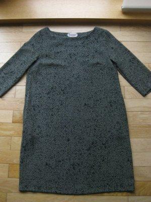 A-lijn jurk khaki-grijs-bruin Polyester