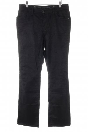 Otto Kern Corduroy Trousers black simple style