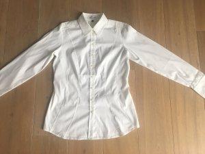 Otto Kern Chemise à manches longues blanc
