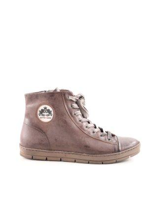 Otto Kern High Top Sneaker braun Casual-Look