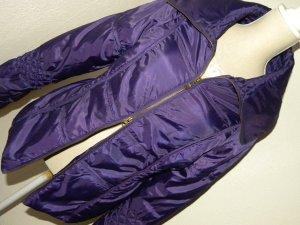 Otto Kern Bomber Jacket brown violet polyester