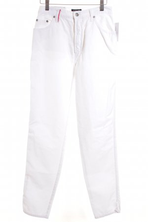 Otto Kern Carrot Jeans white sailor style