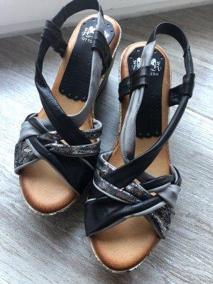 Otto Kern Keilabsatz Sandalette Größe 38 neu