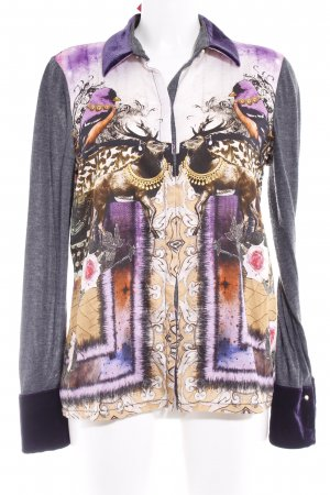 Otto Kern Langarm-Bluse florales Muster Casual-Look