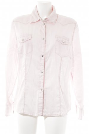 Otto Kern Langarm-Bluse rosé Casual-Look