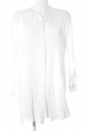 Otto Kern Long Blouse white striped pattern casual look