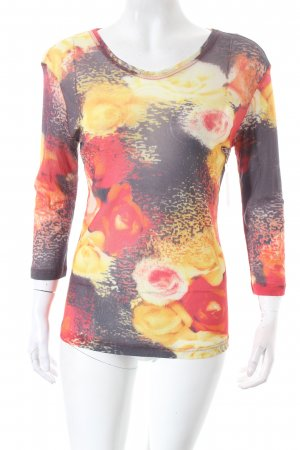 Otto Kern Longsleeve florales Muster Casual-Look