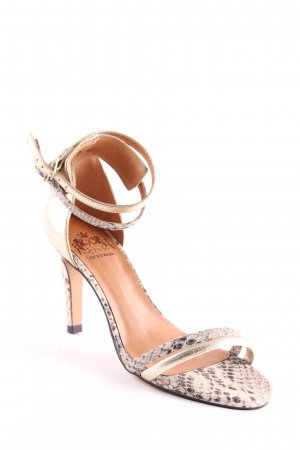 Otto Kern Strapped High-Heeled Sandals animal pattern elegant