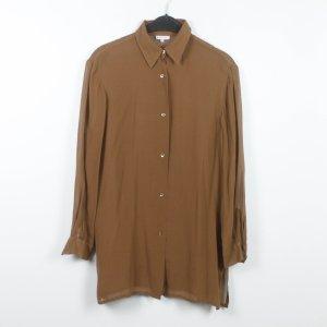 Otto Kern Zijden blouse bruin Zijde