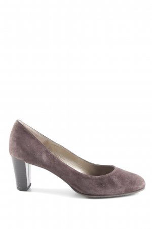 Otto Kern Spitz-Pumps dunkelbraun Business-Look