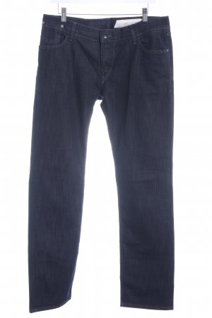 Otto Kern Straight-Leg Jeans dunkelblau Casual-Look