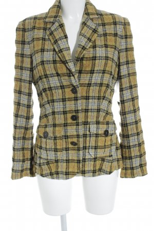 Otto Kern Knitted Blazer check pattern classic style