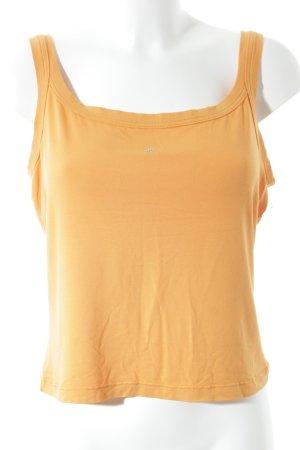 Otto Kern Tanktop oranje simpele stijl
