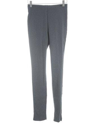 ottod'Ame Leggings dunkelgrau-helllila abstraktes Muster sportlicher Stil
