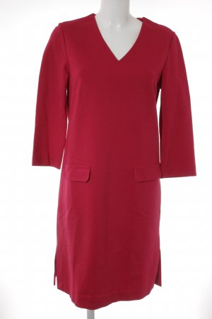 Oui A-Linien Kleid rot Business-Look