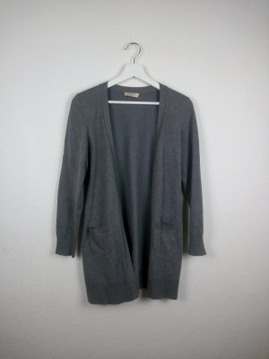 oui basics strickjacke grau S M 38 fashion blogger basic casual