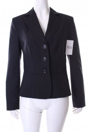 Oui Blazer schwarz Business-Look