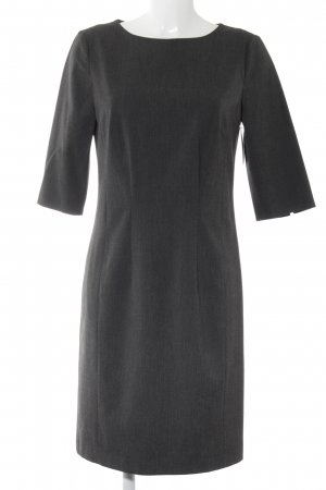 Oui Bleistiftkleid grau Business-Look