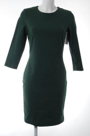 Oui Pencil Dress forest green elegant