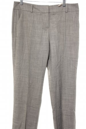 Oui Pleated Trousers grey brown business style