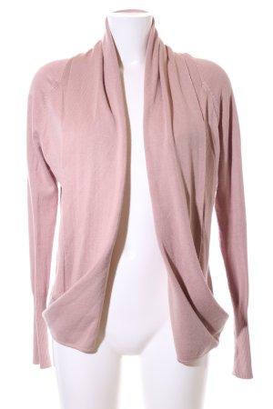 Oui Cardigan pink Casual-Look