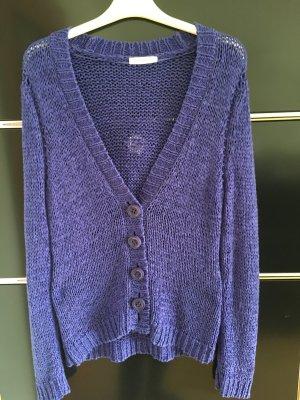 Oui Cardigan in blauviolett