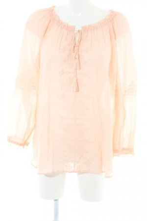 Oui Carmen blouse rosé casual uitstraling