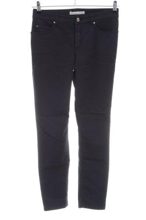Oui Pantalón de cinco bolsillos negro look casual