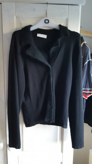 Oui Wool Jacket black