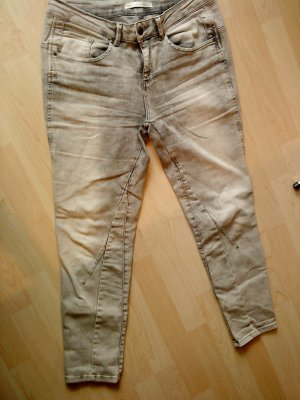 Oui Jeans hellgrau verwaschen Größe 38/40