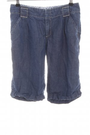 Oui Jeansshorts blau Casual-Look