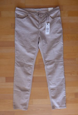 Oui Jeggings Jeans Stretch Treggings Baxtor rose nude Gr. 46 NEU