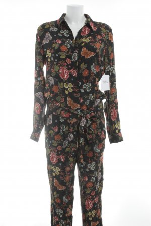 Oui Jumpsuit Animalmuster Street-Fashion-Look