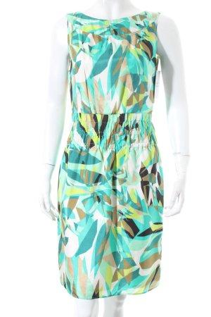 Oui Kleid abstraktes Muster klassischer Stil