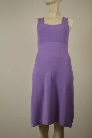 Oui Kleid Strickkleid Stretchkleid Gr. 36 S Viskose Lila Neu