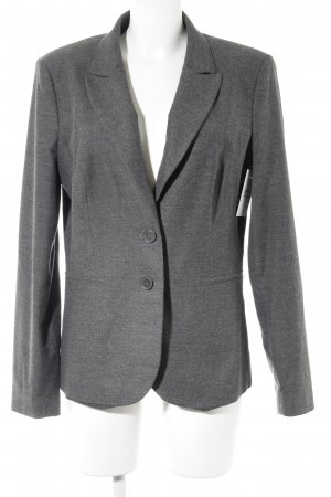 Oui Kurz-Blazer grau Business-Look