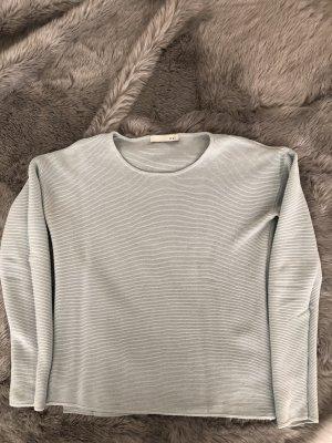 Oui leichter Pullover hellblau
