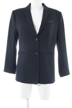 Oui Long-Blazer dunkelblau Business-Look