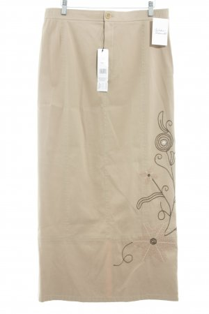 Oui Maxi Skirt floral pattern romantic style