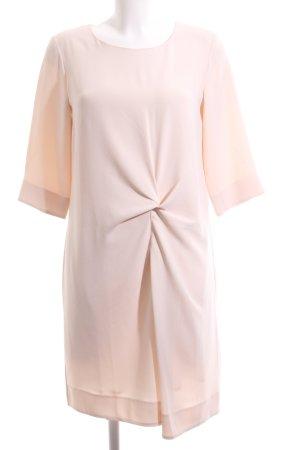 Oui Minikleid pink Business-Look