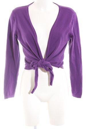 oui Moments Bolero lilac casual look